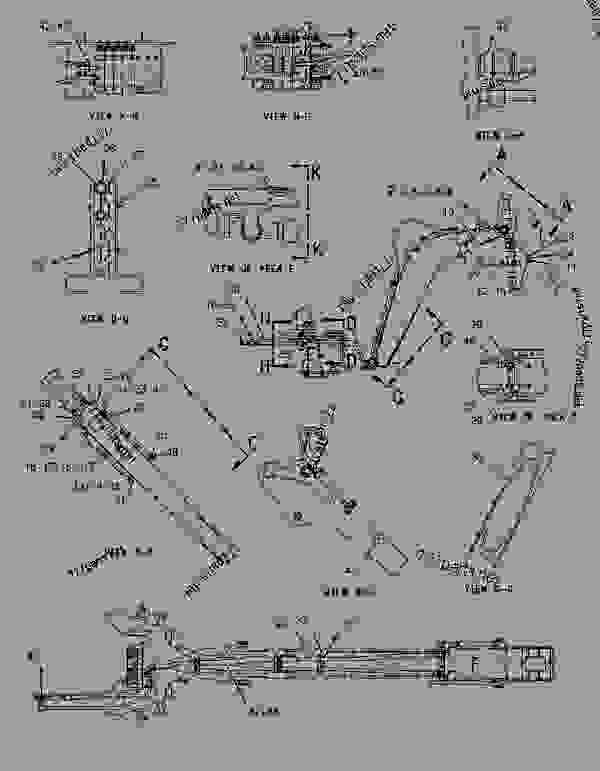 Parts scheme 1788575 LINES GROUP-BACKHOE AUXILIARY  -KIT - BACKHOE LOADER Caterpillar 436C - 436C Backhoe Loader Center Pivot, Parallel Lift 1RR00001-00997 (MACHINE) POWERED BY 3054 Engine HYDRAULIC SYSTEM | 777parts