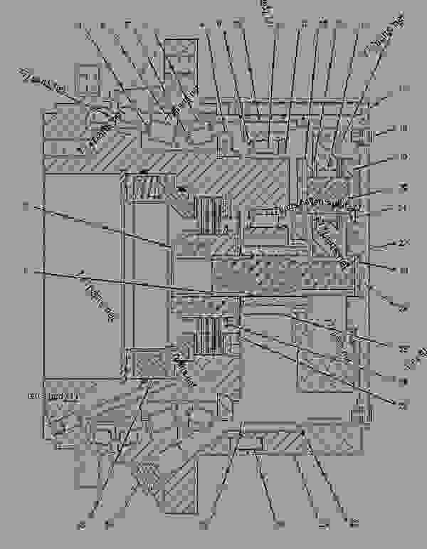 Parts scheme 2596265 WIRING GROUP-REAR   - COLD PLANER Caterpillar PM-201 - PM-201 Cold Planer PNM00001-UP (MACHINE) POWERED BY C18 Engine ELECTRICAL AND STARTING SYSTEM | 777parts