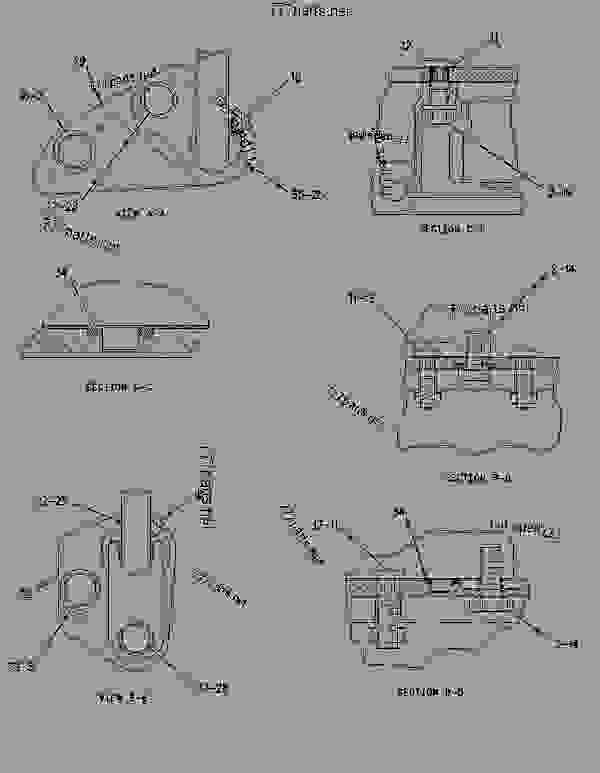Parts scheme 1650094 HOUSING GROUP-FRONT   - EARTHMOVING COMPACTOR Caterpillar 836G - 836G Landfill Compactor 3456 Engine 7MZ00001-UP (MACHINE) BASIC ENGINE | 777parts