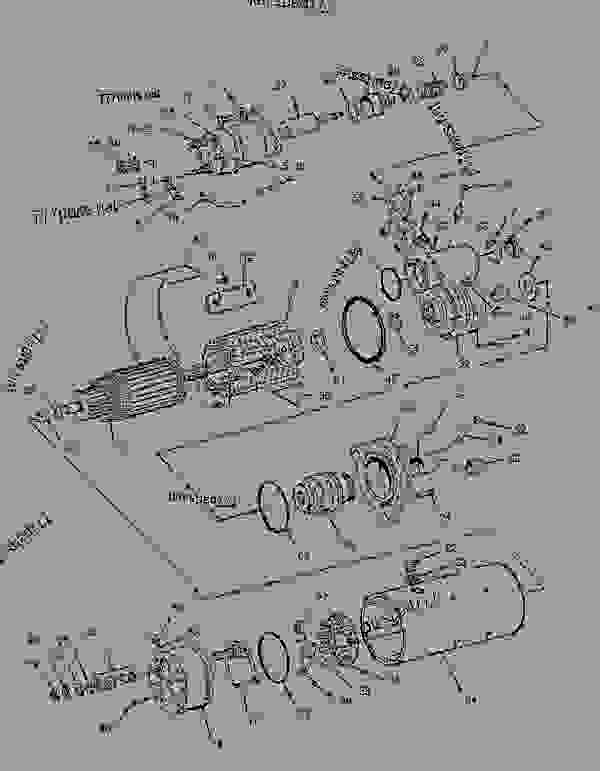 Parts scheme 8C3651 STARTING MOTOR GROUP-ELECTRIC STARTING MOTOR GP-ELECTRIC-DELCO-REMY - ENGINE - GENERATOR SET Caterpillar 3306 - 3306 Generator Set 85Z00001-03763 ELECTRICAL AND STARTING SYSTEM | 777parts