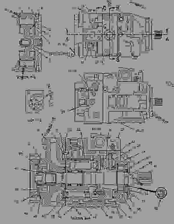 Parts scheme 1980914 PUMP GROUP-PISTON   - CHALLENGER Caterpillar 45 - Challenger 35 & Challenger 45 Agricultural Tractors 60 in (1524 mm) Base Gauge ABF00001-UP (MACHINE) POWERED BY 3116 Engine HYDRAULIC SYSTEM | 777parts