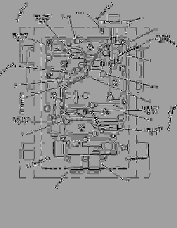Parts scheme 1482344 AXLE GROUP-OSCILLATING  -REAR - EARTHMOVING COMPACTOR Caterpillar 836G - 836G Landfill Compactor 3456 Engine 7MZ00001-UP (MACHINE) POWER TRAIN | 777parts