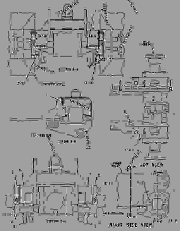 Parts scheme 1716864 GUARD GROUP-AXLE   - EARTHMOVING COMPACTOR Caterpillar 816F - 816F COMPACTOR 5FN00001-UP (MACHINE) FRAME AND BODY | 777parts