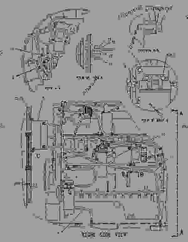 Parts scheme 1796682 LINES GROUP-FUEL   - ENGINE - GENERATOR SET Caterpillar 3406E - 3406E Generator Set 8AZ00001-UP FUEL SYSTEM | 777parts
