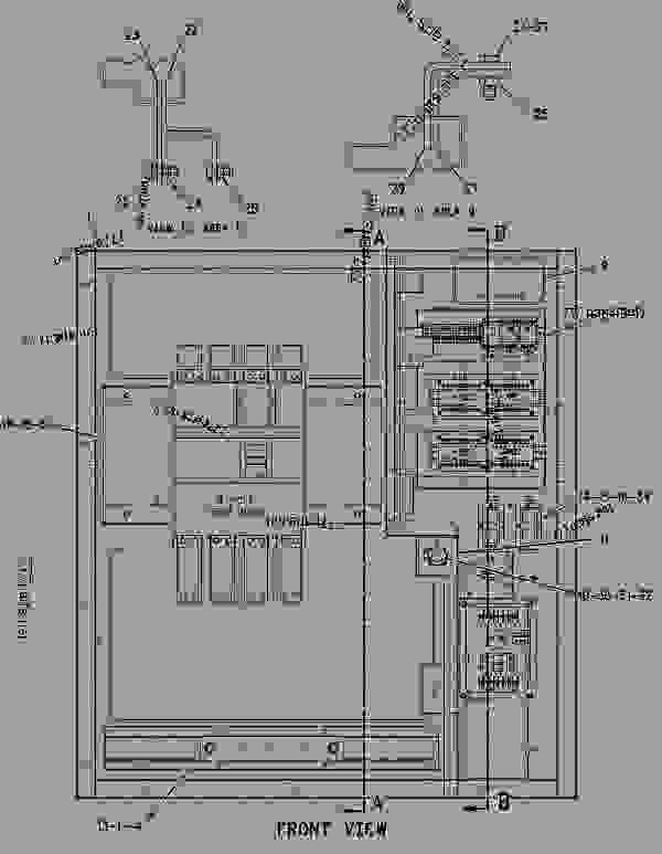 Parts scheme 1658018 BOX GROUP-EXTENSION TERMINAL   - ENGINE - GENERATOR SET Caterpillar 3406E - 3406E Generator Set 8AZ00001-UP ELECTRICAL AND STARTING SYSTEM | 777parts