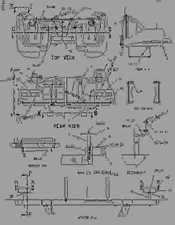 Parts scheme 1566086 MOUNTING GROUP-TANK   - CHALLENGER Caterpillar 85E - Challenger 85E Agricultural Tractor 1NM00001-UP (MACHINE) POWERED BY 3196 Engine FRAME AND BODY | 777parts