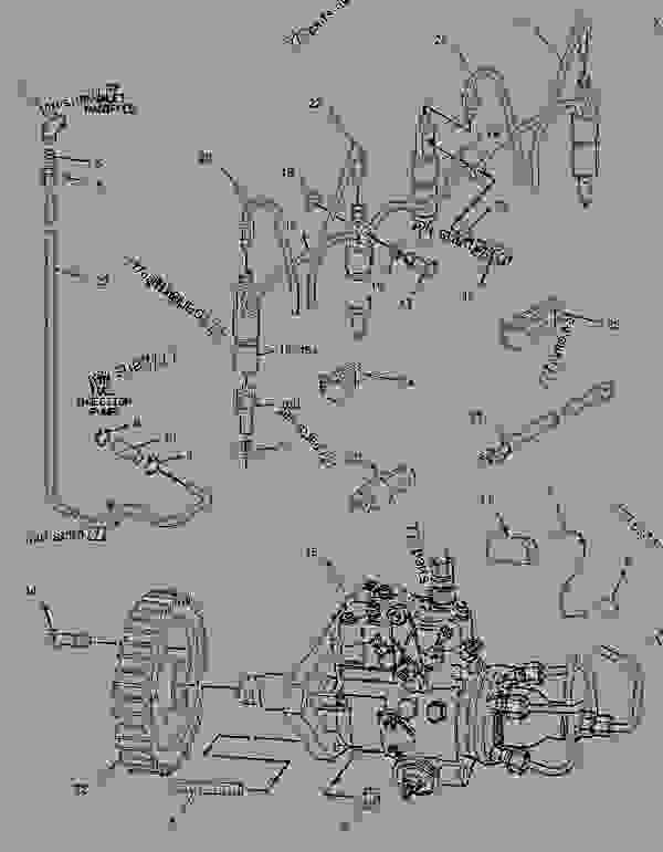 Parts scheme 1425071 PUMP GROUP-FUEL INJECTION   - ASPHALT PAVER Caterpillar AP-800C - CATERPILLAR AP-800C BARBER-GREENE BG-230 Asphalt Pavers 1PM00001-UP (MACHINE) POWERED BY 3054 Engine FUEL SYSTEM | 777parts