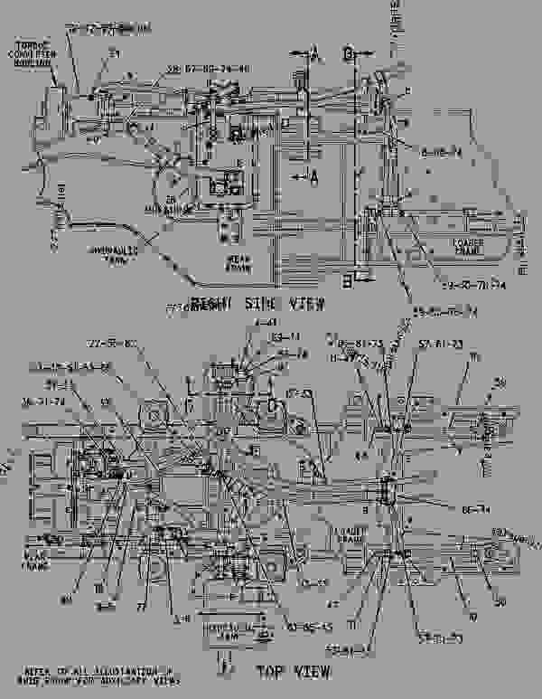 Parts scheme 1426198 LINES GROUP-STEERING   - EARTHMOVING COMPACTOR Caterpillar 836G - 836G Landfill Compactor 3456 Engine 7MZ00001-UP (MACHINE) STEERING SYSTEM | 777parts