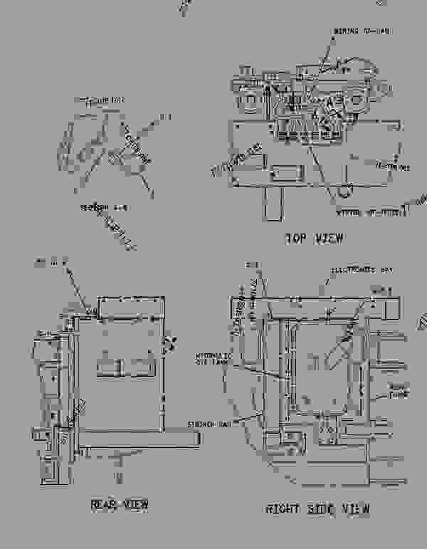 Parts scheme 1145166 ELECTRONICS GROUP-POWER TRAIN   - EARTHMOVING COMPACTOR Caterpillar 836G - 836G Landfill Compactor 3456 Engine 7MZ00001-UP (MACHINE) ELECTRICAL AND STARTING SYSTEM | 777parts