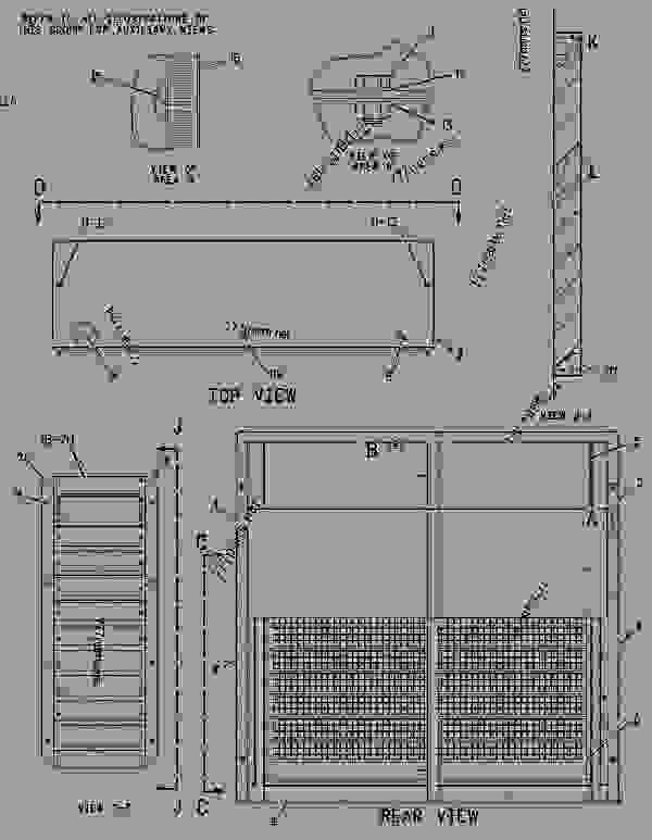 Parts scheme 1609673 ENCLOSURE GROUP-GENERATOR   - ENGINE - GENERATOR SET Caterpillar 3406E - 3406E Generator Set 8AZ00001-UP ENCLOSURES, GUARDS AND BASES | 777parts