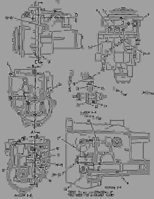Parts scheme 1333062 GOVERNOR GROUP-UNIT INJECTOR   - CHALLENGER Caterpillar 45 - Challenger 35 & Challenger 45 Agricultural Tractors 80 in (2032 mm) Base Gauge 3BK00001-UP (MACHINE) POWERED BY 3116 Engine FUEL SYSTEM | 777parts