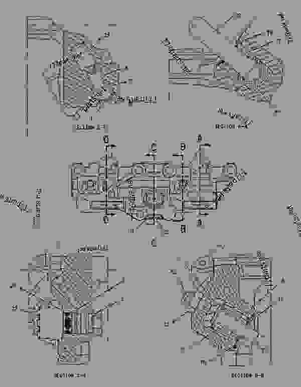 Parts scheme 1895950 HOUSING GROUP-ENGINE BRAKE   - ARTICULATED DUMP TRUCK Caterpillar 740 - 740 Articulated Truck AXM00001-UP (MACHINE) POWERED BY 3406E Engine BASIC ENGINE | 777parts