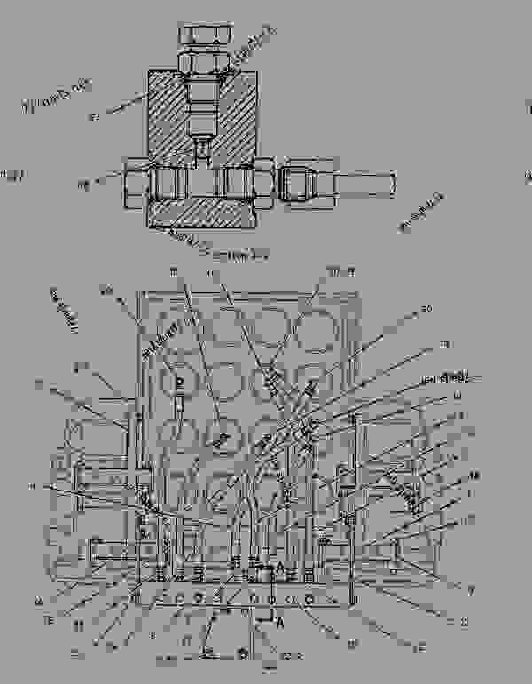 Parts scheme 5N4749 VALVE GROUP-CONTROL   - ENGINE - GENERATOR SET Caterpillar 3508C - 3508 Generator Set Oil Field Land Rig PTK00001-UP ELECTRICAL AND STARTING SYSTEM | 777parts