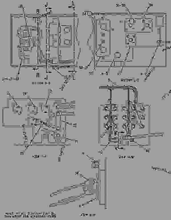 Parts scheme 1433678 WIRING GROUP-BUMPER   - EARTHMOVING COMPACTOR Caterpillar 836G - 836G Landfill Compactor 3456 Engine 7MZ00001-UP (MACHINE) ELECTRICAL AND STARTING SYSTEM | 777parts