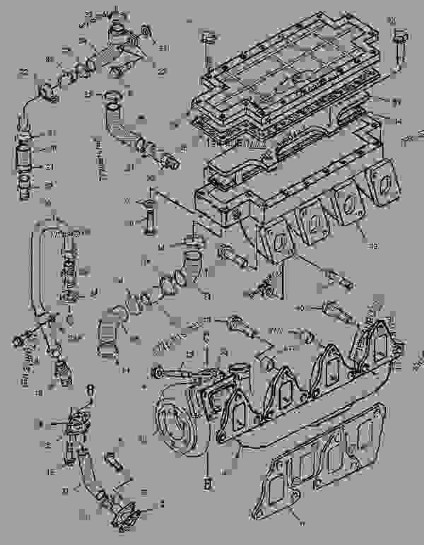 Parts scheme 1662879 TURBOCHARGER GROUP   - ASPHALT PAVER Caterpillar BG-225C - CATERPILLAR AP-650B, BARBER-GREENE BG-225C Asphalt Pavers 5GN00001-UP (MACHINE) POWERED BY 3054 Engine AIR INLET AND EXHAUST SYSTEM | 777parts