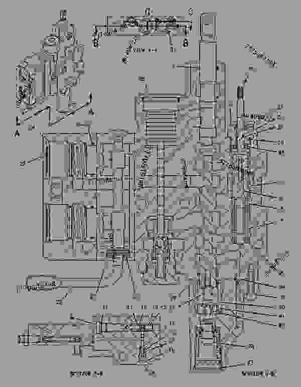 Parts scheme 1881047 VALVE GROUP   - CHALLENGER Caterpillar 35 - Challenger 35 & Challenger 45 Agricultural Tractors 60 in (1524 mm) Base Gauge 8RD00001-UP (MACHINE) POWERED BY 3116 Engine HYDRAULIC SYSTEM | 777parts