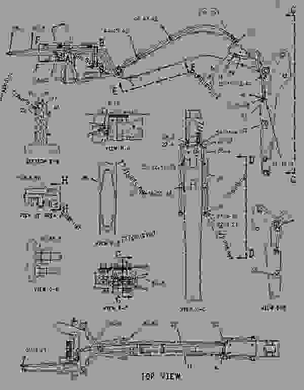 Parts scheme 1069046 KICKOUT & POSITIONER GROUP   - BACKHOE LOADER Caterpillar 416C - 416C Backhoe Loader Center Pivot, Single Tilt 4ZN00001-16043 (MACHINE) POWERED BY 3054 Engine HYDRAULIC SYSTEM | 777parts