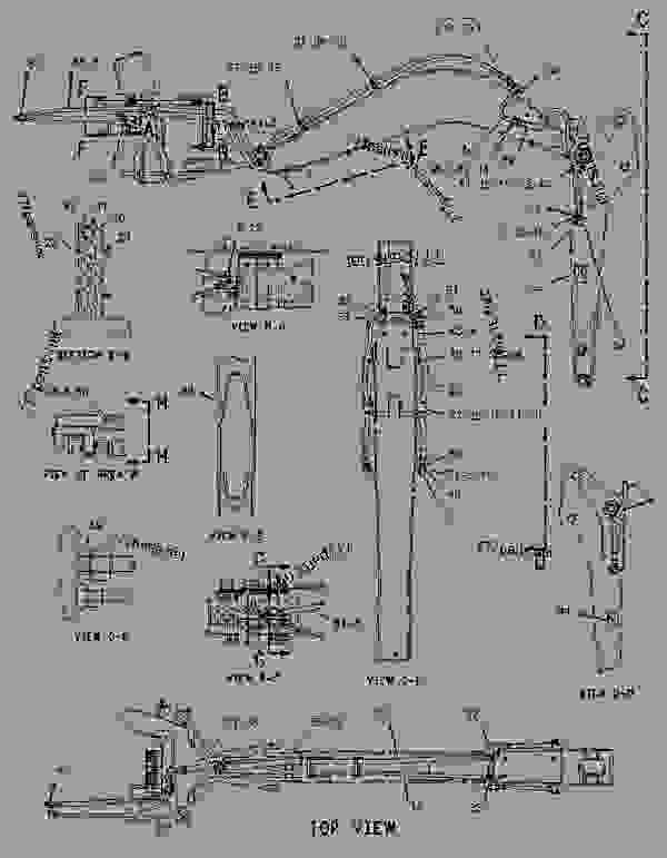 Parts scheme 1357195 KIT-AUXILIARY LINES   - BACKHOE LOADER Caterpillar 416C - 416C Backhoe Loader Center Pivot, Single Tilt 4ZN00001-16043 (MACHINE) POWERED BY 3054 Engine HYDRAULIC SYSTEM | 777parts