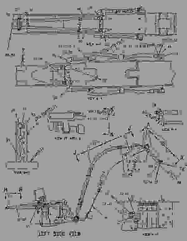 Parts scheme 1357199 KIT-AUXILIARY LINES   - BACKHOE LOADER Caterpillar 426C - 426C Backhoe Loader Center Pivot, Single Tilt 1CR00001-00863 (MACHINE) POWERED BY 3054 Engine HYDRAULIC SYSTEM | 777parts