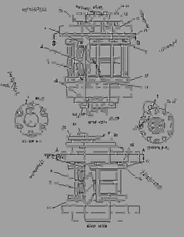 Parts scheme 1957077 GUARD GROUP-RADIATOR   - EARTHMOVING COMPACTOR Caterpillar 836G - 836G Landfill Compactor 3456 Engine 7MZ00001-UP (MACHINE) FRAME AND BODY | 777parts