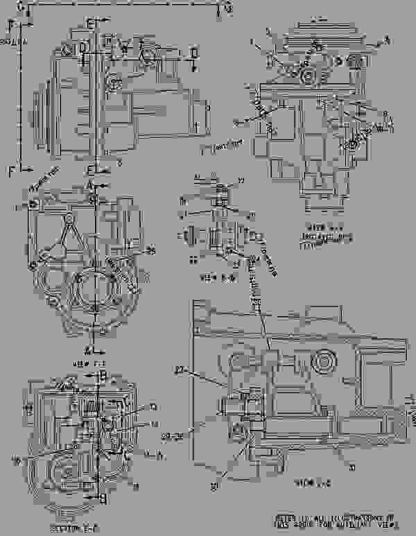 Parts scheme 1307326 GOVERNOR GROUP-UNIT INJECTOR   - CHALLENGER Caterpillar 35 - Challenger 35 and Challenger 45 Agricultural Tractors 8DN00001-00849 (MACHINE) POWERED BY 3116 Engine FUEL SYSTEM | 777parts