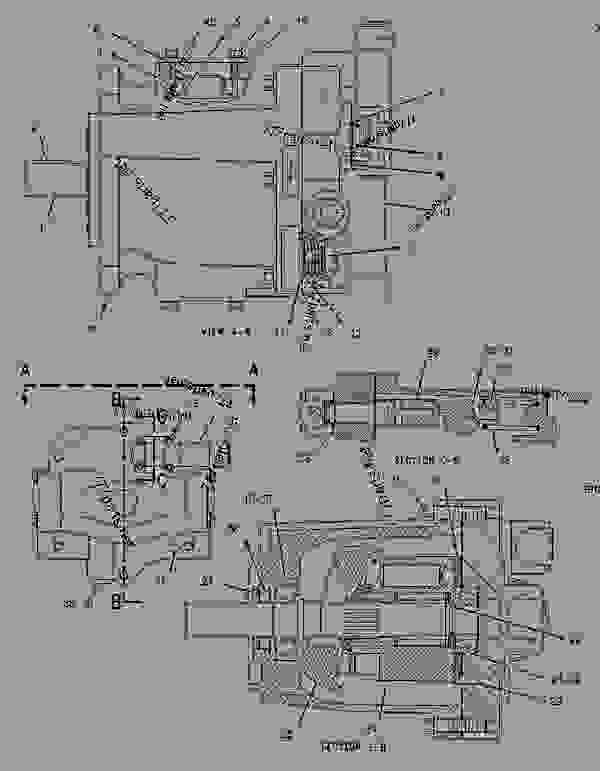 Parts scheme 1975326 PUMP GROUP-PISTON   - ASPHALT PAVER Caterpillar AP-1000B - AP-1000B, BG-260C Asphalt Paver 7HN00001-UP (MACHINE) POWERED BY 3116 Engine HYDRAULIC SYSTEM | 777parts