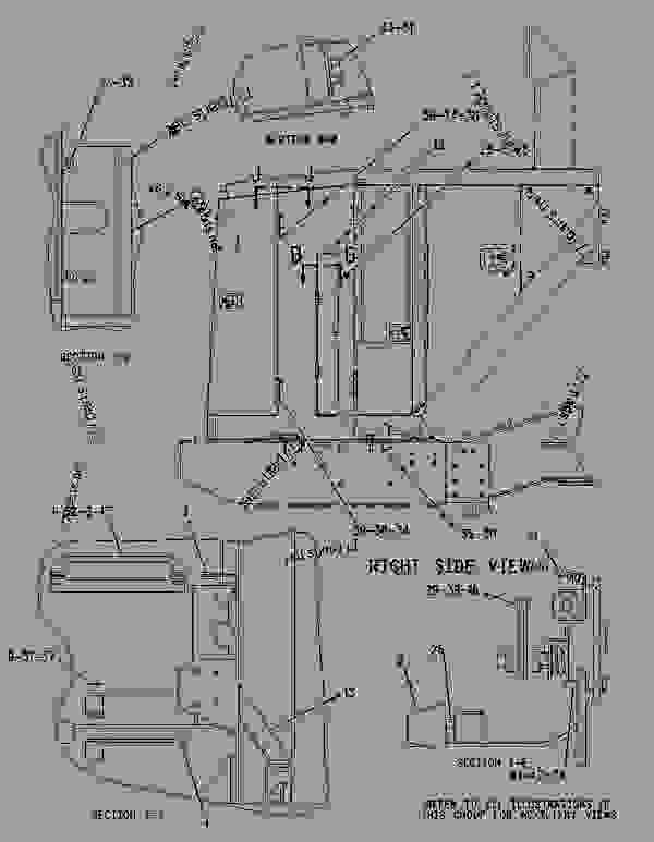 Parts scheme 1422613 GUARD GROUP-COMPACTOR   - EARTHMOVING COMPACTOR Caterpillar 836G - 836G Landfill Compactor 3456 Engine 7MZ00001-UP (MACHINE) FRAME AND BODY | 777parts