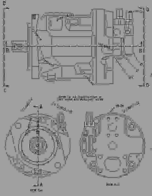 Parts scheme 1361805 PUMP GROUP-HYDRAULIC  -BRAKE, HOIST, STEERING - OFF-HIGHWAY TRUCK Caterpillar 775D - 775D Quarry Truck 8AS00001-UP (MACHINE) POWERED BY 3412E Engine HYDRAULIC SYSTEM | 777parts