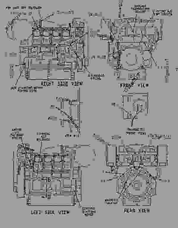 Parts scheme 1057182 FASTENER GROUP-ENGINE WIRING   - ENGINE - GENERATOR SET Caterpillar 3508B - 3508B Generator Set CNB00001-UP ELECTRICAL AND STARTING SYSTEM | 777parts