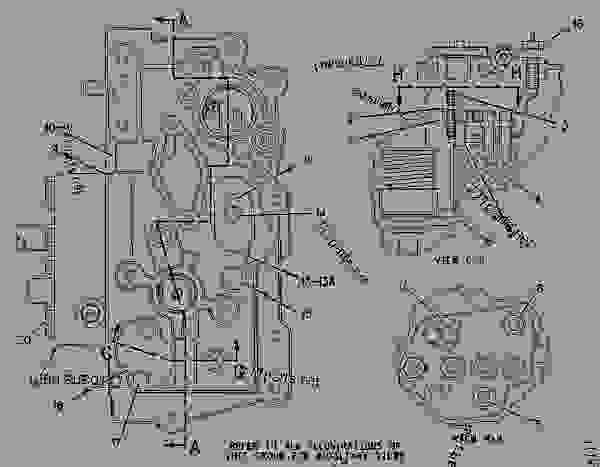 Parts scheme 2W7325 GOVERNOR GROUP  - COLD PLANER Caterpillar PM-465 - PM-465 Cold Planer 5ZS00001-UP (MACHINE) POWERED BY 3406 Engine FUEL SYSTEM | 777parts