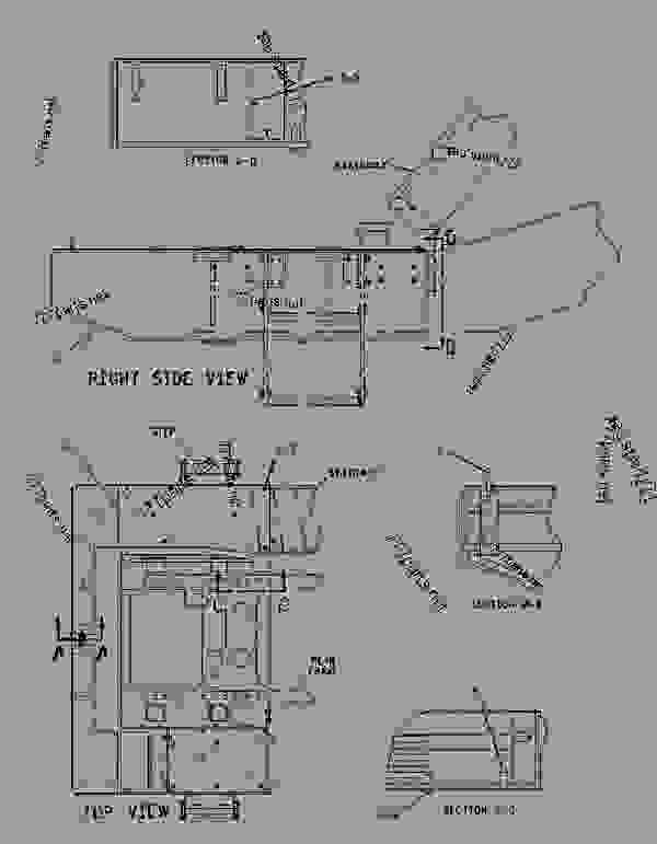Parts scheme 1897560 BUMPER GROUP-REAR  -REAR - EARTHMOVING COMPACTOR Caterpillar 836G - Custom Product Support Literature for the 834G Series II Wheel Type Tractor and 836G Series II Landfill Compactor BRL00001-UP (MACHINE) FRAME AND BODY | 777parts