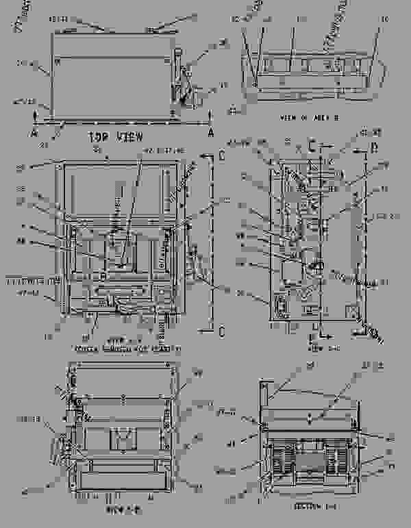 Parts scheme 2460845 AIR CONDITIONER & MOUNTING GROUP   - ARTICULATED DUMP TRUCK Caterpillar 730 - 730 Articulated Truck AGF00001-UP (MACHINE) POWERED BY 3196 Engine OPERATOR STATION | 777parts