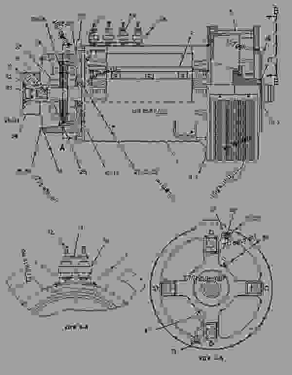 Parts scheme 1946561 GENERATOR GROUP   - ENGINE - GENERATOR SET Caterpillar 3406E - 3406E Generator Set 8AZ00001-UP GENERATORS | 777parts