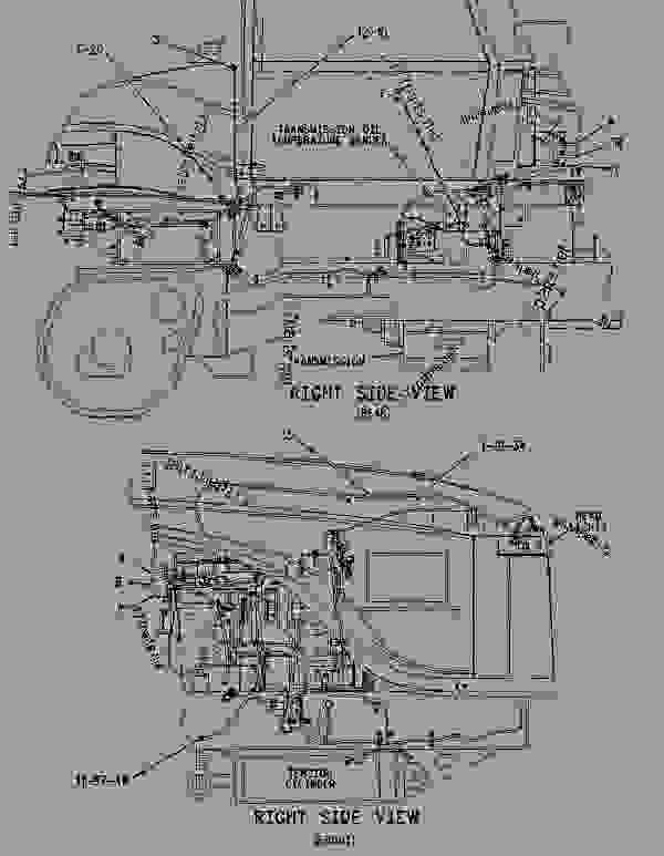 Parts scheme 1365578 WIRING GROUP-MACHINE   - CHALLENGER Caterpillar 75E - Challenger 75E Agricultural Tractor 6HS00001-UP (MACHINE) POWERED BY 3176C Engine ELECTRICAL AND STARTING SYSTEM | 777parts