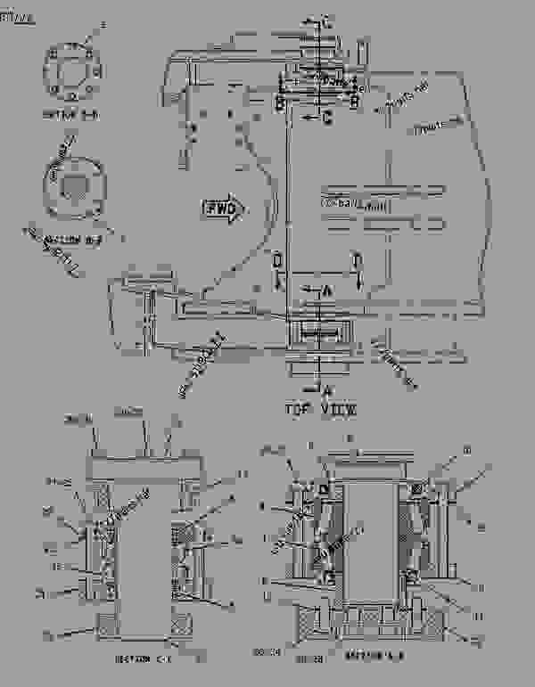 Parts scheme 1923323 HITCH GROUP-ARTICULATING   - EARTHMOVING COMPACTOR Caterpillar 816F - 816F COMPACTOR 5FN00001-UP (MACHINE) FRAME AND BODY | 777parts