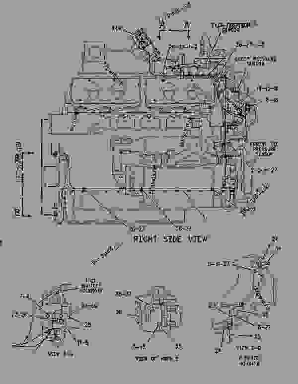 Parts scheme 1126658 WIRING GROUP-ENGINE   - ENGINE - INDUSTRIAL Caterpillar SPS342 - 3412C Engine for Truck Mounted Pumper-2LZ1-Up 2LZ00001-00218 ELECTRICAL AND STARTING SYSTEM | 777parts