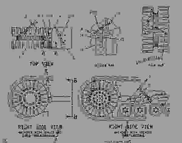 Parts scheme 1166977 DRIVER GROUP-WHEEL  - CHALLENGER Caterpillar 75E - Challenger 75E Agricultural Tractor 6HS00001-UP (MACHINE) POWERED BY 3176C Engine POWER TRAIN | 777parts