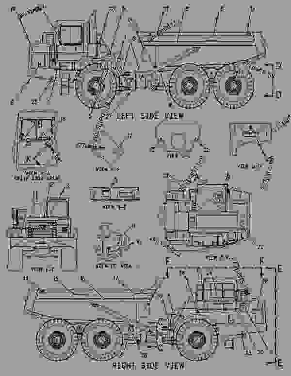 Parts scheme 1445588 BOX GROUP-TOOL   - ARTICULATED DUMP TRUCK Caterpillar D400E II - D400E Series II Articulated Truck 8PS00001-UP (MACHINE) POWERED BY 3406E Engine SERVICE EQUIPMENT AND SUPPLIES | 777parts