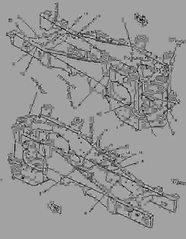 Parts scheme 1145126 FIREWALL GROUP   - EARTHMOVING COMPACTOR Caterpillar 836G - 836G Landfill Compactor 3456 Engine 7MZ00001-UP (MACHINE) FRAME AND BODY | 777parts