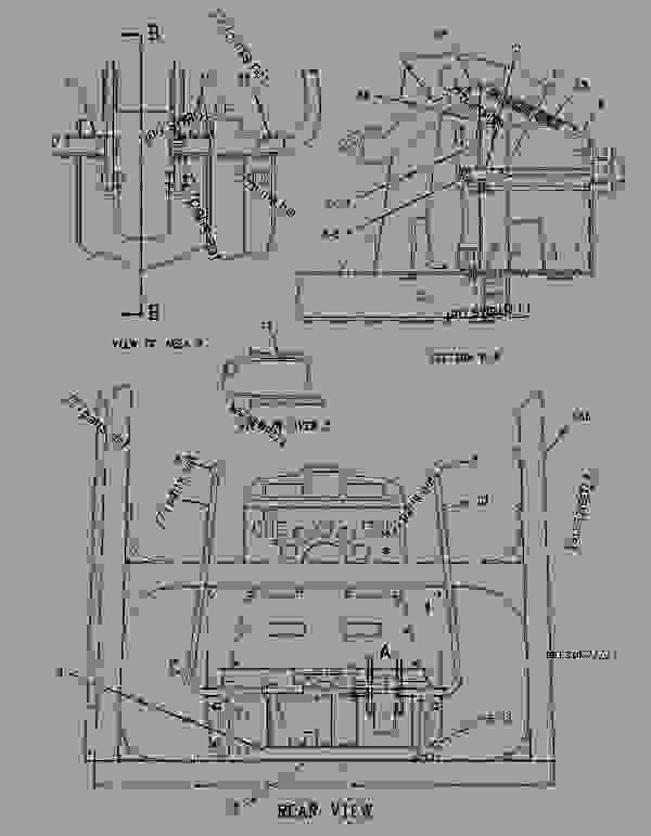 Parts scheme 1980885 CONTROL GROUP-STEERING  -BRAKE - CHALLENGER Caterpillar 65E - Challenger 65E Agricultural Tractor 1GM00001-UP (MACHINE) POWERED BY 3176 Engine DIFFERENTIAL STEERING SYSTEM | 777parts