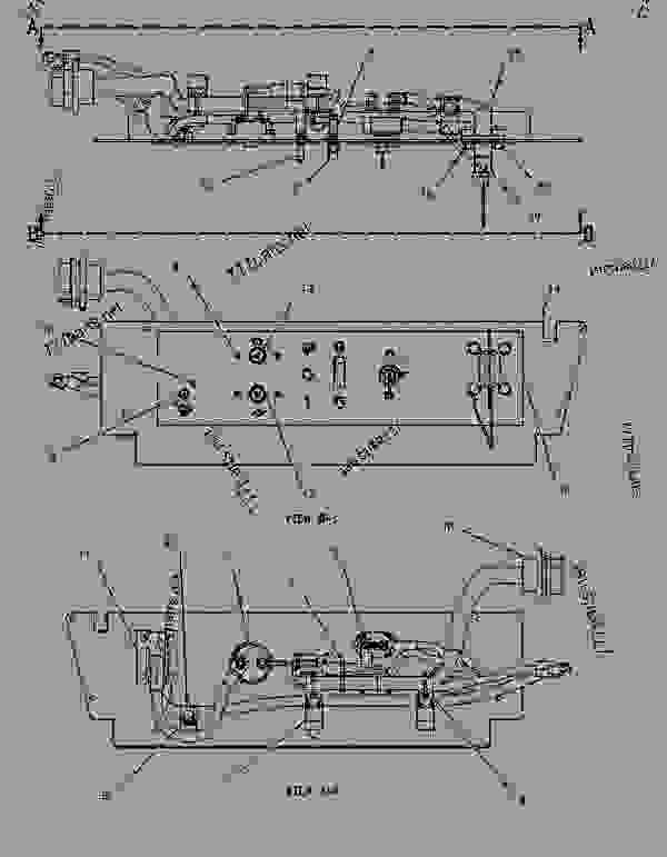 Parts scheme 1865855 PANEL GROUP-CIRCUIT BREAKER   - ARTICULATED DUMP TRUCK Caterpillar 735 - 735 Articulated Truck AWR00001-UP (MACHINE) POWERED BY 3406E Engine ELECTRICAL AND STARTING SYSTEM | 777parts