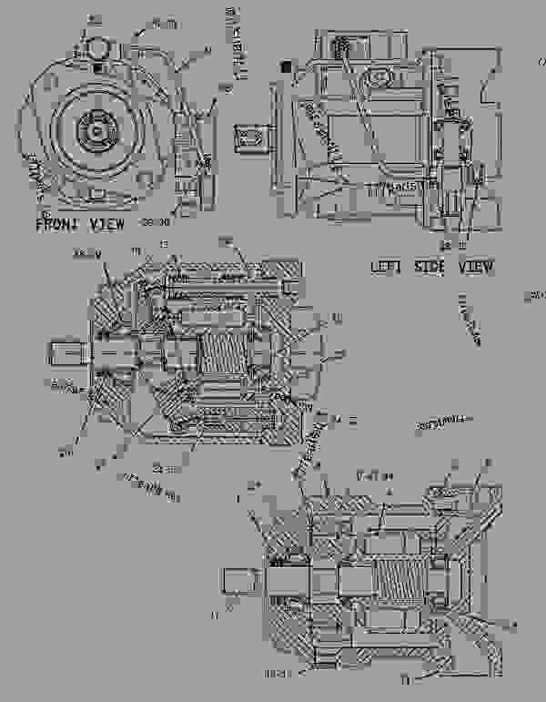 Caterpillar Backhoe Parts Diagram : Caterpillar d backhoe parts diagram e