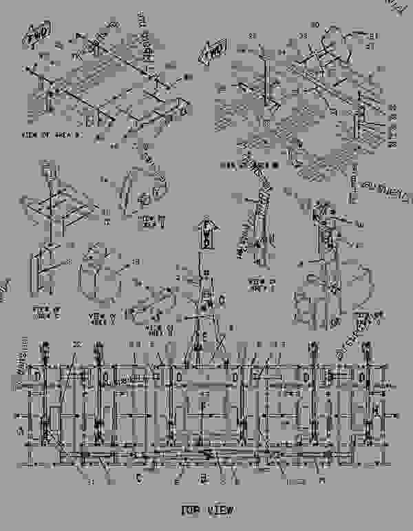 Parts scheme 2113277 PLATE & FILM GROUP  -TL5 44 - TILLAGE Caterpillar TL5 50 - TL5 Series Field Cultivators FCM00001-UP (MACHINE) SERVICE EQUIPMENT AND SUPPLIES | 777parts