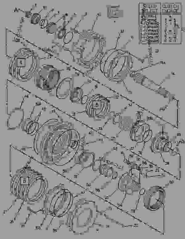 Parts scheme 1482686 PLANETARY GROUP-TRANSFER GEAR   - ARTICULATED DUMP TRUCK Caterpillar D250E II - D250E Series II Articulated Truck 4PS00001-UP (MACHINE) POWERED BY 3306 Engine POWER TRAIN | 777parts