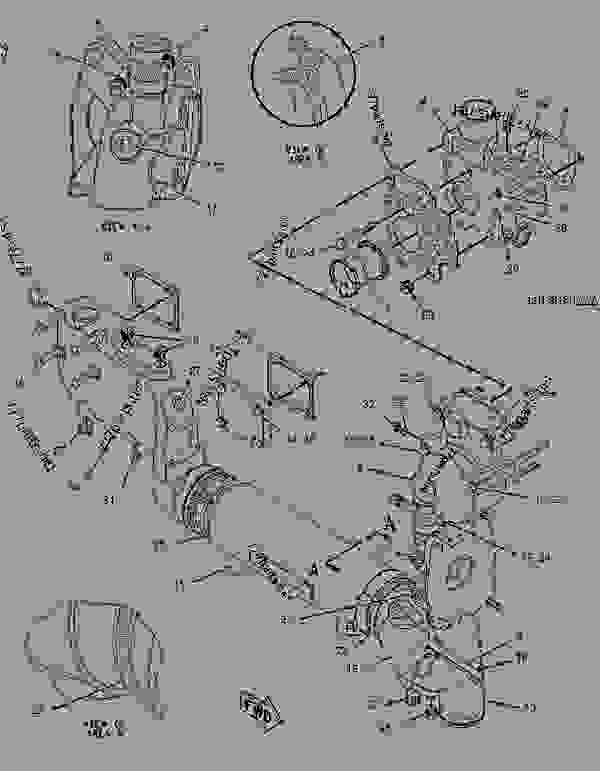 Parts scheme 1957999 LINES GROUP-WATER   - CHALLENGER Caterpillar MT845 - C-12, C-15, C-16 Caterpillar Engines For AGCO Challenger BBP00001-UP (MACHINE) COOLING SYSTEM | 777parts