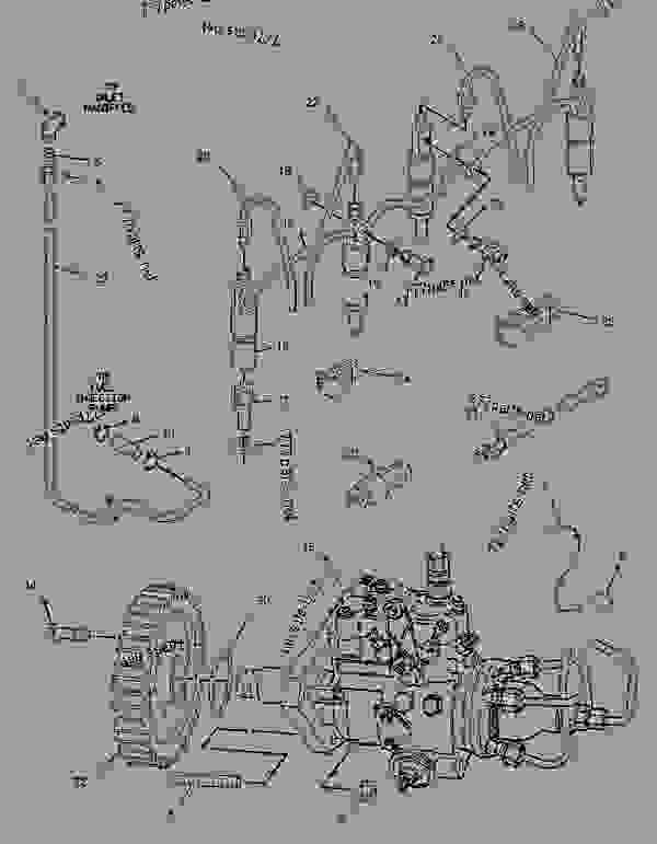 Parts scheme 1425071 PUMP GROUP-FUEL INJECTION   - ASPHALT PAVER Caterpillar BG-230 - CATERPILLAR AP-800C BARBER-GREENE BG-230 Asphalt Pavers 9AL00001-UP (MACHINE) POWERED BY 3054 Engine FUEL SYSTEM | 777parts