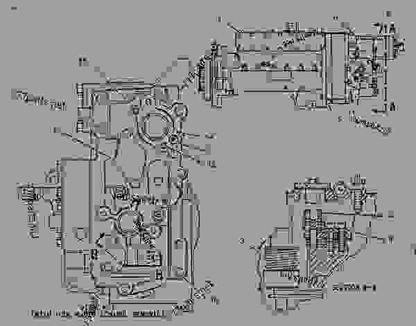 Parts scheme 1352691 PUMP GROUP-GOV & FUEL INJ   - COLD PLANER Caterpillar PM-465 - PM-465 Cold Planer 5ZS00001-UP (MACHINE) POWERED BY 3406 Engine FUEL SYSTEM | 777parts