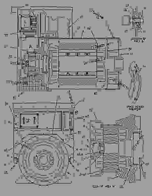 Parts scheme 4P1381 PUMP GROUP-FUEL INJECTION   - ENGINE - GENERATOR SET Caterpillar 3406B - 3406B Generator Set 4RG00001-01501 FUEL SYSTEM | 777parts