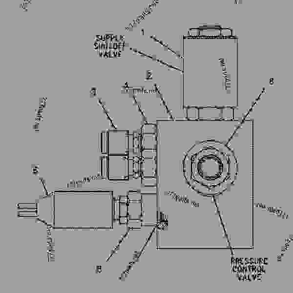 Parts scheme 1274661 VALVE & MTG GROUP-BRAKE  -AUTOMATIC RETARDER - OFF-HIGHWAY TRUCK Caterpillar 775D - 775D Quarry Truck 8AS00001-UP (MACHINE) POWERED BY 3412E Engine BRAKING SYSTEM | 777parts