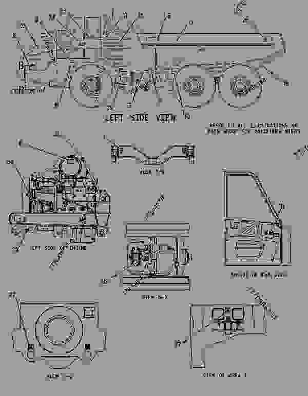 Parts scheme 2072648 COVER GROUP-SHIPPING   - ARTICULATED DUMP TRUCK Caterpillar 730 - 730 Articulated Truck AGF00001-UP (MACHINE) POWERED BY 3196 Engine SERVICE EQUIPMENT AND SUPPLIES | 777parts